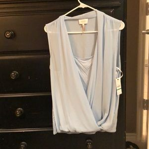 Laundry by Shelli Segal, NWT sleeveless top, sz L